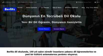 berlitz-istanbul.com - en iyi ingilizce kursu  berlitz 141 yaşında