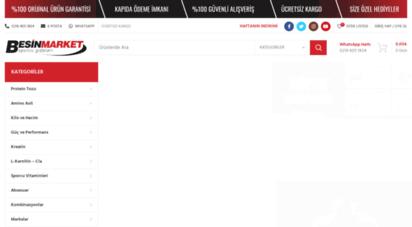 besinmarket.com.tr - besin market - türkiyenin sporcu gıdaları marketi  besin market
