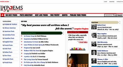 best-poems.net - best poems  the famous poems encyclopedia