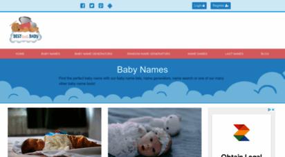 bestlittlebaby.com - baby names - baby name generator & baby name lists  best little baby