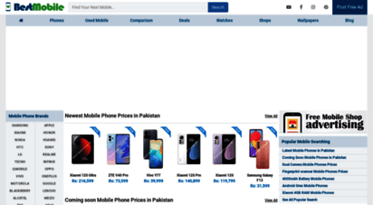 bestmobile.pk - latest mobile phone prices in pakistan - daily smartphone news and