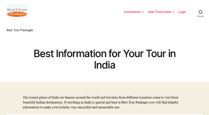 Welcome to Besttourpackages com - Best Tour Packages, Cheap Holiday