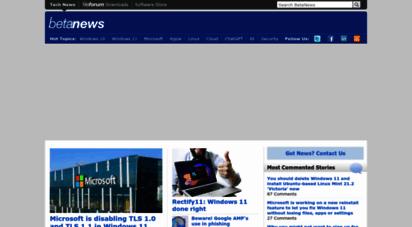 betanews.com - technology news and anlysis - betanews