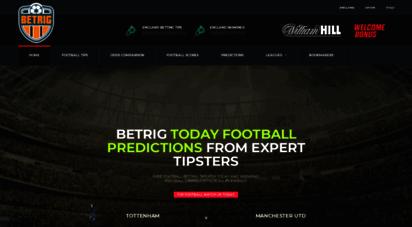 betrig.com - betrig » free football betting tips uk