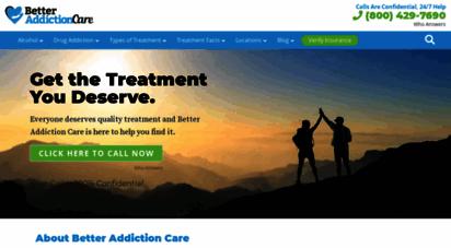 betteraddictioncare.com -