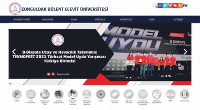 beun.edu.tr - zonguldak bülent ecevit üniversitesi