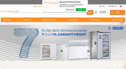 beyazesyamerkezi.com - beyaz eşya merkezi türkiyenin alışveriş merkezi