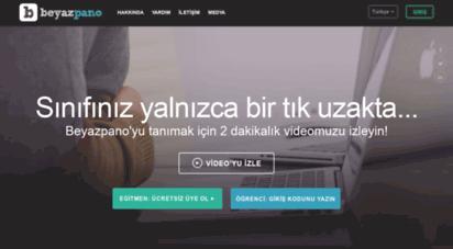 beyazpano.com - beyazpano  ücretsiz dijital sınıfınızı oluşturun