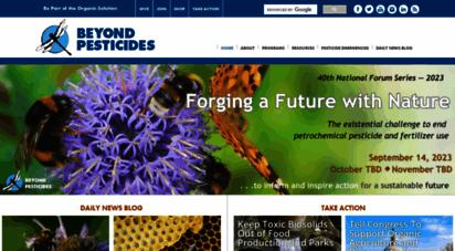 beyondpesticides.org - home — beyond pesticides