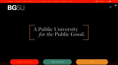 bgsu.edu - bowling green state university