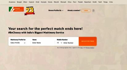 bharatmatrimony.com - bharat matrimony - the no. 1 & most trusted indian matrimonial website - bharatmatrimony.com