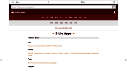 bibleapps.com - bible apps .com: online bible for the mobile web