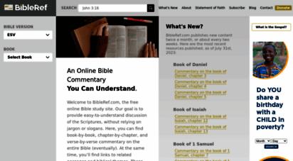bibleref.com - online bible commentary