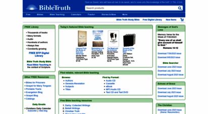 bibletruthpublishers.com -