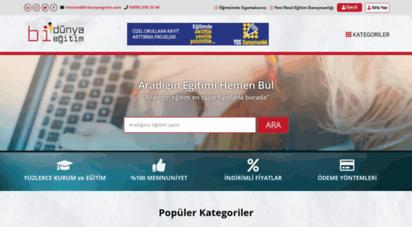 bidunyaegitim.com - bi´dünya eğitim  dünya´nın eğitimi burada
