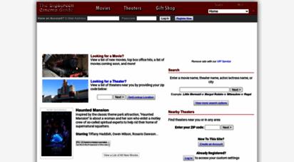 bigscreen.com - the bigscreen cinema guide