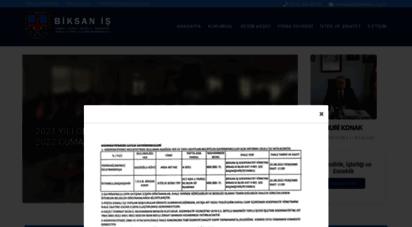 biksan.org.tr - biksan iş sanayi sitesi ikitelli bakırköy toplu işyeri işletme kooperatifi