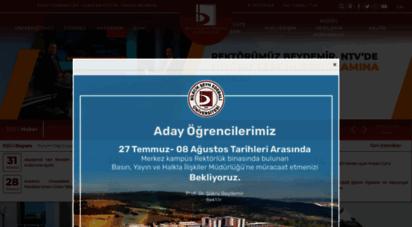 bilecik.edu.tr - bilecik şeyh edebali üniversitesi