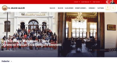 bilecik.gov.tr -
