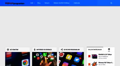 bilgisayarprogramlari.net - bilgisayar programları - hızlı ve ücretsiz bilgisayar programları indir