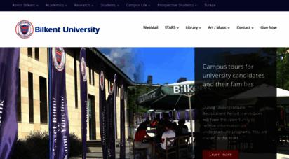 bilkent.edu.tr - en / bilkent university