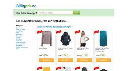 billigpris.no - finn beste pris - billigpris.no