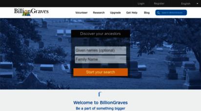billiongraves.com - billiongraves