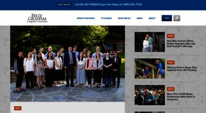 billygraham.org - billy graham evangelistic ssociation