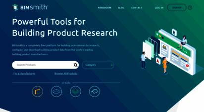 bimsmith.com - bimsmith  building product data for revit