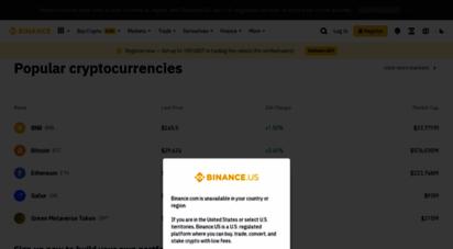 binance.com - bitcoin exchange  cryptocurrency exchange  binance
