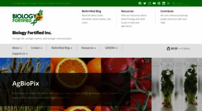 biofortified.org - home - biology fortified, inc.