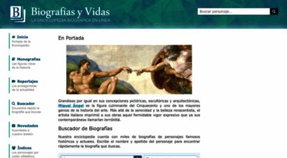 biografiasyvidas.com - biografias y vidas .com