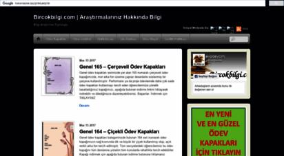 bircokbilgi.com - account suspended