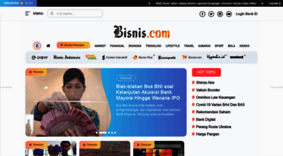 bisnis.com - bisnis.com : berita terbaru bisnis, ekonomi, investasi indonesia