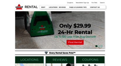 bissellrental.com - carpet cleaner rental, carpet cleaning machines  bissell rental