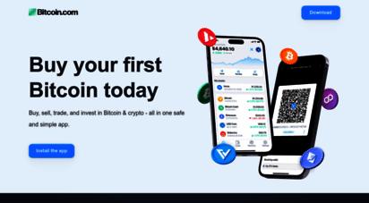 bitcoin.com - bitcoin.com  buy btc & bch  news, prices, mining & wallet