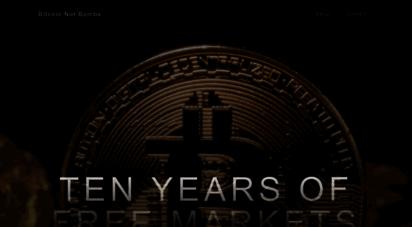 bitcoinnotbombs.com - bitcoin not bombs