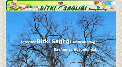 bitkisagligi.net - bitki hastalıkları giriş sayfası