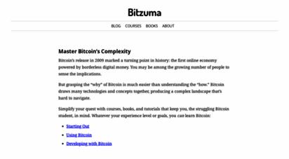 bitzuma.com - bitzuma - bitcoin guides and tutorials