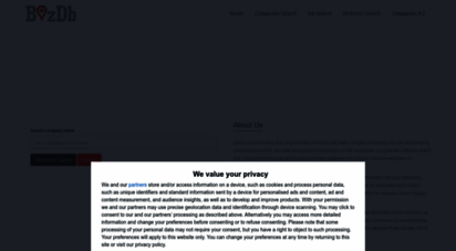 bizdb.co.uk - bizdb - free uk companies search: check telephone numbers, address, incorporation details, directors, account reports and other information