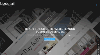 Welcome To Bizdetail Com Business Web Designer Concord Web Design Bizdetail