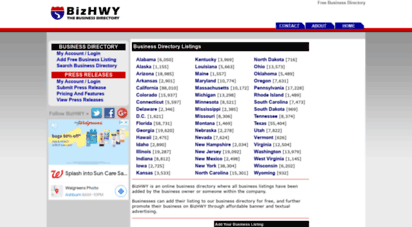 bizhwy.com - business directory  free business listings  businesses for sale