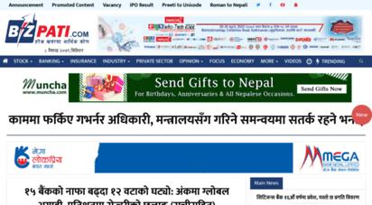 bizpati.com - bizpati.com - leading economic online news portal from nepal