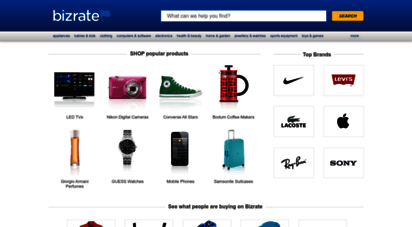 bizrate.co.uk - compare prices and shop online for great deals at bizrate.co.uk