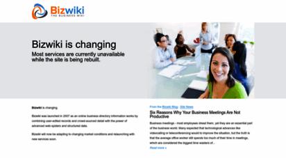 bizwiki.com - bizwiki  the free business wiki