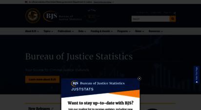 bjs.gov - bureau of justice statistics bjs