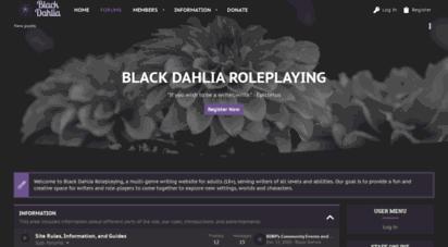blackdahliaroleplaying.com