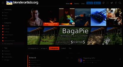 blenderartists.org - blender artists community