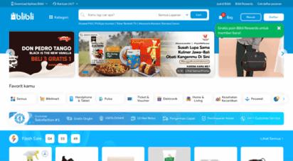 blibli.com - online mall blibli.com, sensasi belanja online shop ala mall