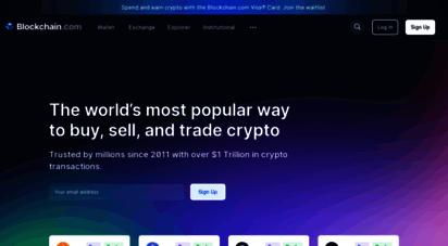 blockchain.com - blockchain.com - the most trusted crypto company
